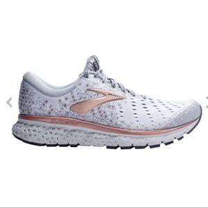 Brooks Glycerin 17 White Copper Running Shoe